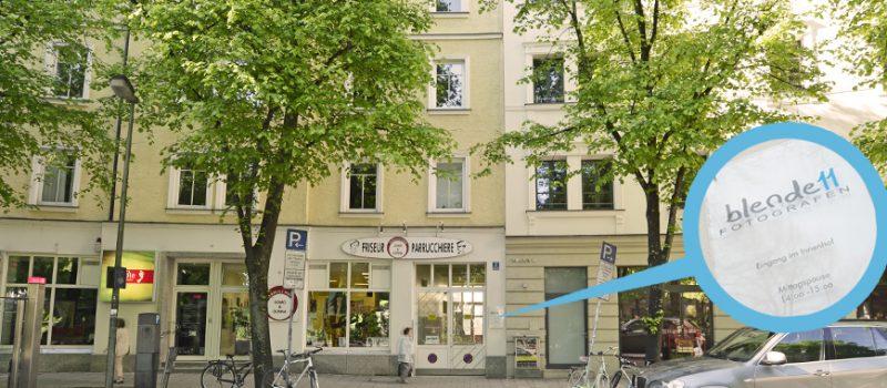 blende11 Fotografen - Das Fotostudio in München von außen