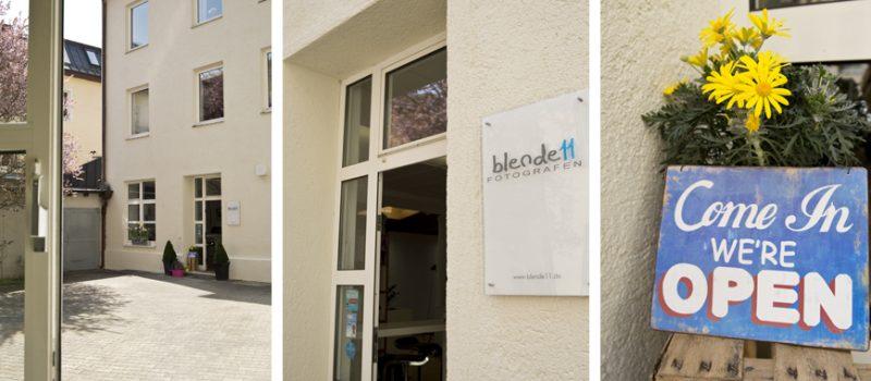 blende11 Fotografen - Das Fotostudio in München - Studioeingang